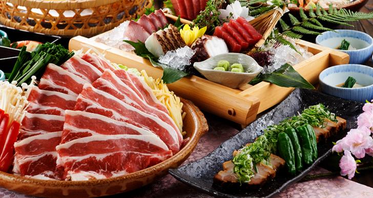春野菜と牛肉の<br>旨辛陶板焼き