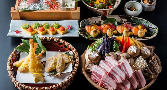 秋野菜と蒸し豚の<br>味噌陶板