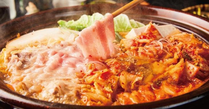 イベリコ豚の<br>スタミナ<br>豚キムチ鍋